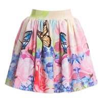 Love Made Love Tulle Skirt with Butterfly Print