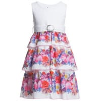 Love made love Butterflies and Flowers High Waist Dress