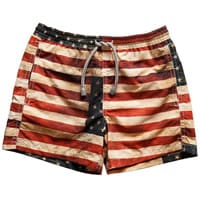 MC2 St Bath Boys USA Flag Swim Shorts