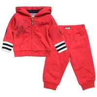 Maserati Baby Boys Red Cotton Tracksuit