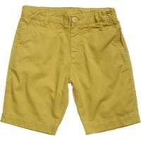 Miller Boys Yellow Cotton Shorts