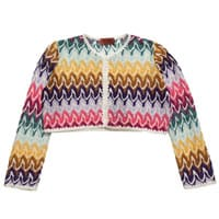 Missoni Girls Knitted Bolero Cardigan