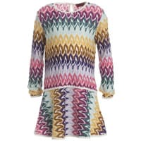 Missoni Patterned Long Sleeved Dress