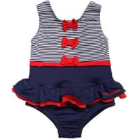 Mitty Games Baby Girls Navy Blue Swimming Costume with Nappy 5.50.43 PM