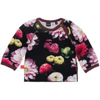 Molo Baby Girls Black Flowering 'Evette' Top
