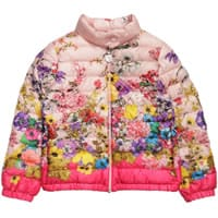 Moncler Girls Floral Down Padded 'Alisia' Jacket