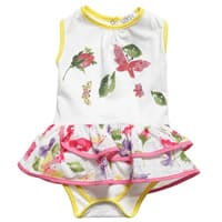 My Collections Baby Girls Cotton Shortie Dress