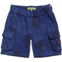 Silvian Heach Baby Boys Blue Cotton Shorts