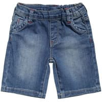 Silvian Heach Baby Boys Blue Denim Shorts