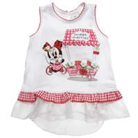 Silvian Heach Baby Girls Minnie Mouse Modal Tunic Top