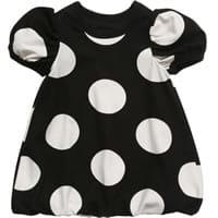 The Tiny Universe Black Jersey Bubble Dress