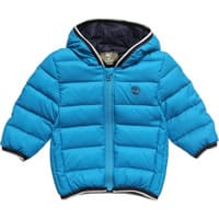 Timberland Boys Blue Down Padded Jacket