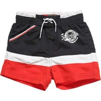 Timberland Boys Blue and Red Swim Shorts