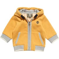 Timberland Boys Yellow Cotton Hooded Zip Up Top