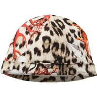 Girls 'Coral Leopard' Jersey Hat