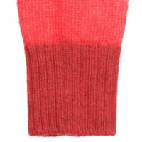Girls Red Wool Arm Warmers