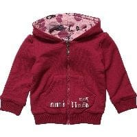Baby Girls Pink Reversible Hooded Sweater
