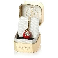 Limited Edition Red Diamante Apple Charm (2cm)