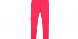 Pink Merino Wool Thermal Leggings2.fw