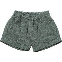 Teal Blue Corduroy Shorts