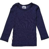 Unisex Navy Blue Merino Wool Top