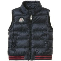 Baby Boys Navy Blue 'Titouan' Down Padded Gilet