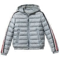 Boys Grey Down 'Chamane' Puffer Jacket