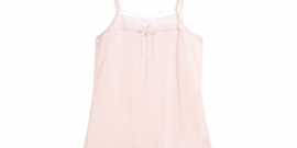 Girls Pink Lace Modal Vest6.fw
