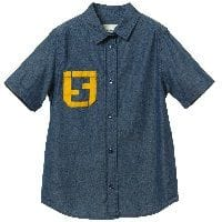Boys Blue Chambray Cotton Shirt