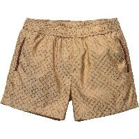 Boys Brown 'GG' Logo Swim Shorts