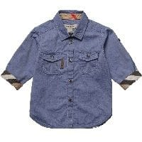 Boys Chambray Denim Shirt2