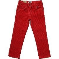 Boys Red Corduroy Trousers
