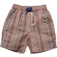 Boys Signature Stripe Swim Shorts