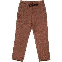 Brown 'Fiji' Linen Trousers