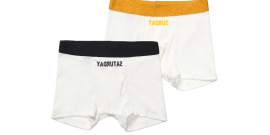 Organic Cotton 'Arthur' Boxer Shorts Gift Set.fw