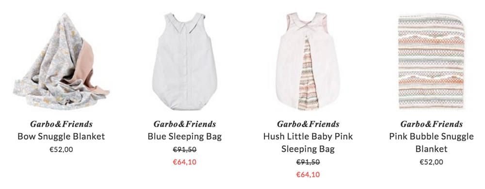 Garbo&Friends baby accessories