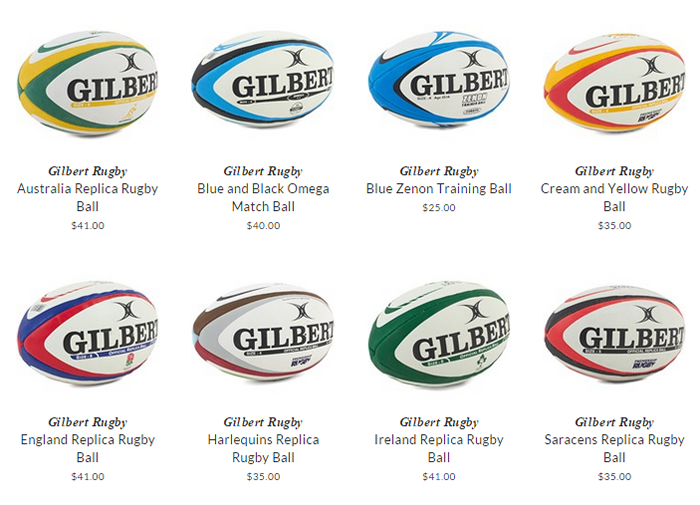 Gilbert Rugby