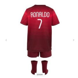 Portugal National Football Team Kids Clothes