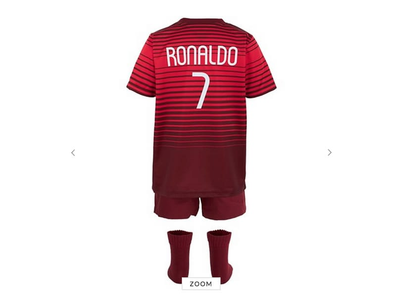 Portugal National Football Team Kids Clothes | kids & Baby ...