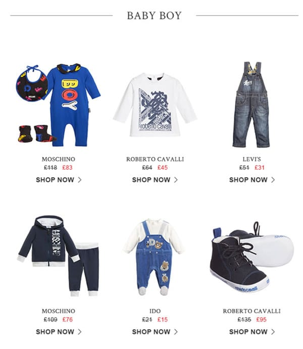 Baby Boys Designers Clothes on sale